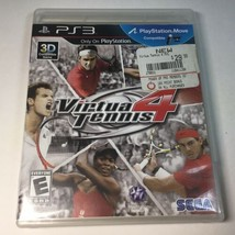 Virtua Tennis 4 (Sony PlayStation 3, 2011) - COMPLETE - TESTED - $21.77