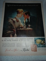 Vintage Touch and Glow by Revlon Print Magazine... - $8.99