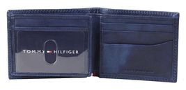 Tommy Hilfiger Men's Leather Credit Card Id Traveler Rfid Wallet 31TL240004 image 6