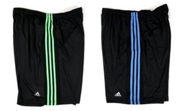 adidas Men's Shorts 3-Stripe ClimaLite Athletic Short Authentic Licensed NEW