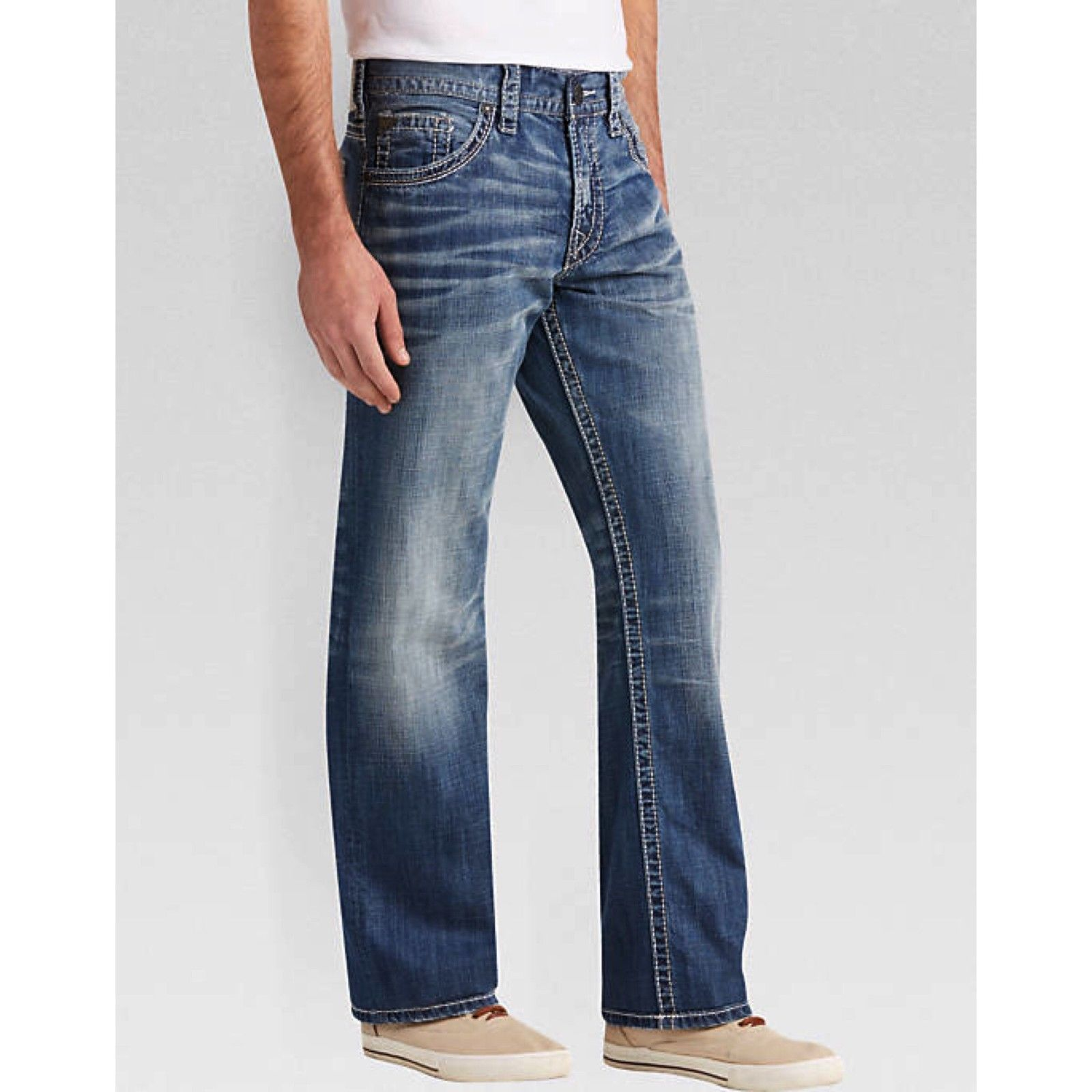 d4bae063 SILVER Jeans Gordie Relaxed Fit Mens Jeans and 50 similar items