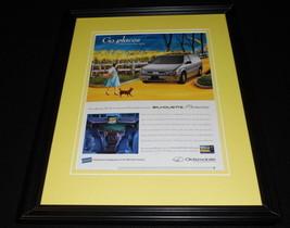 1998 Oldsmobile / Wizard of Oz Framed 11x14 ORIGINAL Vintage Advertisement - $34.64