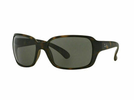 Ray ban Gafas de Sol RB4068 894/58 60 Havana Marco Verde Lente Polarizada - $122.40