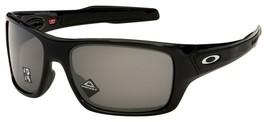 Oakley OO9263-4163 Men's Turbine Polished Black Frame / Prizm Black Polarized - $112.17