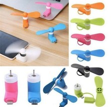 Cooler Fan for Apple / Samsung & Android Phones - Lightning & Micro USB Cooling image 1
