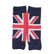 Set of 2 Classic Union Jack Baby Boy/Girl Leg Wamers Toddler Leg Guards,0-5Yrs