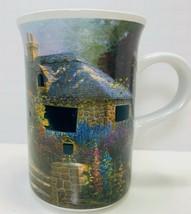 HOLLYHOCK HOUSE  Thomas Kinkade 2004 - Heat Sensitive Windows Coffee Tea Mug - $9.49