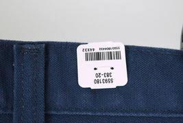 NWT CARHARTT Blue Cotton Dungaree Fit Carpenter Work Pants Mens Size 44 x 32 image 5