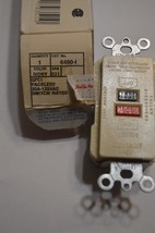 LEVITON  6490-1 ivory CFCI faceless 20A 125VAC switch rated   invE44 - $11.99