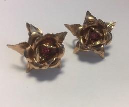 Midcentury B.N. Bugbee Niles Copper Tone Rose P... - $37.28