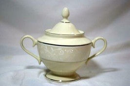 Lenox 2019 Pearl Innocence Footed Sugar Bowl With Lid New - $101.17