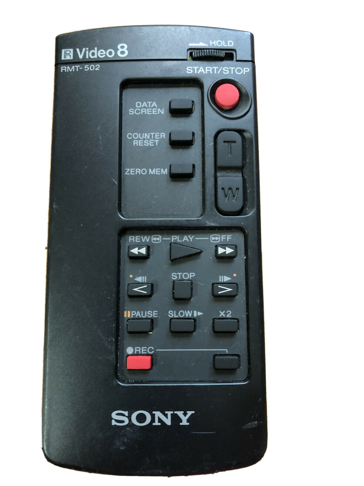 Sony RMT-502 OEM Video 8 Handy-Camcorder Remote Control for CCD-F55 CCD-F450 - $8.90