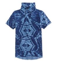 $35 American Rag Men's Tye Dye Print Funnel T-Shirt, Basic Navy, Size S - $15.83