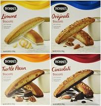 Nonni's Biscotti Variety Pack of 4 - Cioccolati, Limone, Originali, Turt... - £27.26 GBP