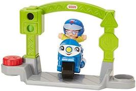 Fisher-Price Little People Vehicle Police Motorcycle, Small - $14.80