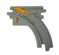 1 FISHER PRICE GEO TRAX CURVE SWITCH TRACK ROAD PLASTIC REPLACEMENT PART... - $7.29