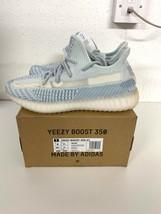 Adidas Yeezy 350 Boost Cloud FW3043 7.5 UK 8 US triple white zebra bred 700 image 2