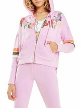 Wildfox Womens WFL9841G2 Hoodie Relaxed Pink Size S - $71.51