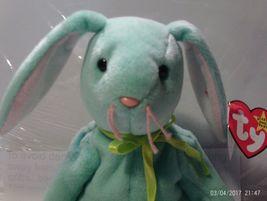 Ty Beanie Baby Hippity the Green Bunny - $6.99
