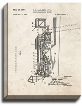 Missile Launching System Patent Print Old Look on Canvas - $39.95+