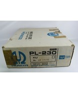 Pioneer PL-230 Record Player Box with Styrofoam Inserts - BOX ONLY - $41.11