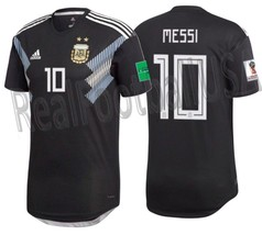 ADIDAS LIONEL MESSI ARGENTINA AUTHENTIC MATCH AWAY JERSEY WORLD CUP 2018... - £204.36 GBP