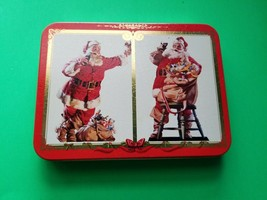 Coca Cola Nostalgia Playing Cards 1994 Sealed In Tin NEW - $9.85