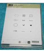 Stampin' Up!    *LOVELY LITTLE LABELS*   Brand New in Box    Rubber Stamps - $8.94