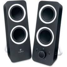 Logitech Z200 2.0 Speaker System - Black - LED Indicator - TAA Compliance - $24.74