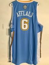 Adidas Swingman NBA Jersey Denver Nuggets Aaron Afflalo Light Blue sz 2X - $14.84
