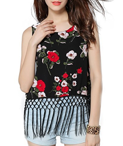 EASTHER Women's Sexy Sleeveless Spaghetti Bandage Crop Tops Cut Out Bustier Cami