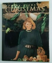 Martha Stewart's Christmas 1989 Holiday Cookbook Home Crafts Cookie Recipes - $12.74