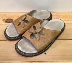 Dr Martens 11696 Tan Slip On Women's Sandals US Size 6 - $23.25