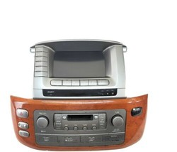 Lexus LX470 Navigation radio A/C vent  radio cd controls and trim - $617.49