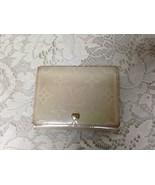 Authentic Louis Vuitton Beige Patent Leather Credit Card- Coin Purse 4.5... - $94.95
