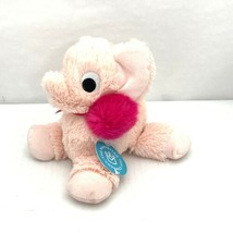 Manhattan Toy Co Floppies Holiday Elephant Pink Stuffed Animal NWT Cozy ... - $13.99