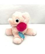 Manhattan Toy Co Floppies Holiday Elephant Pink Stuffed Animal NWT Cozy ... - $13.99