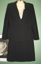 ANNE KLEIN Pinstripe Skirt Suit New Size 10 - $68.00
