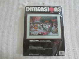 """Dimensions Dinner At The Ritz Crewel Kit #1388 - 20"""" X 14"""" - $10.00"""
