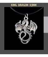 DRAGON DJINN AMULET MAGICAL POWERS UNIQUE~Success~Super Happy Totem RICH... - $80.00