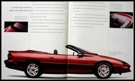 1994 Chevrolet Chevy Camaro, Z28 Deluxe Brochure, Original GM 94, 32 pgs - $8.31