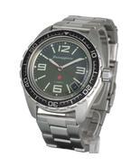 Vostok Komandirskie 020715 Russian Military Wrist Watch Auto Red Star Gr... - $85.22
