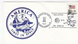 AMERICA FIRST IN SPACE MOTOPEX DEARBORN HEIGHTS MI OCTOBER 22 1983 - $1.98