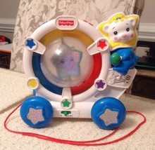 Fisher Price Sparkling Symphony Drum Along Bear - 71696, Pull-Along Toy - $19.95