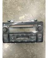 02-04 TOYOTA CAMRY RADIO RECEIVER FUJI ID 16823 CASSETTE CD 86120AA040 OEM - $58.05