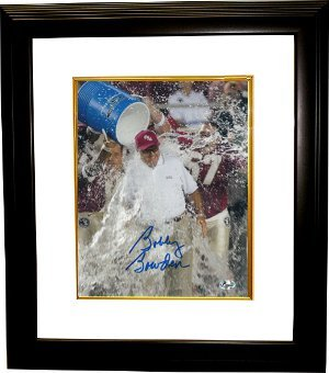 Primary image for Bobby Bowden signed Florida State Seminoles 16x20 Photo Powerade Custom Framed