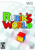 Rubik's World Wii  Disk Only - $7.75