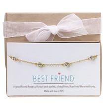 Diamond by the Yard Bracelet in Sterling Silver, 14K Gold, 14K Rose Gold, Friend - $85.54