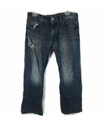 American Eagle Outfitters Men's Jeans Original Boot Cut Distressed Blue ... - $16.12