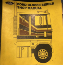 1979 Ford CL9000 CL 9000 Series Service Shop Repair Manual OEM Factory  - $14.80